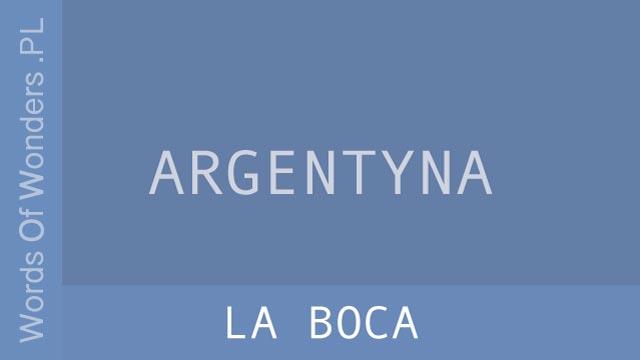 wow La Boca