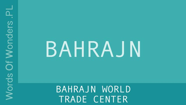 WOW Bahrajn World Trade Center