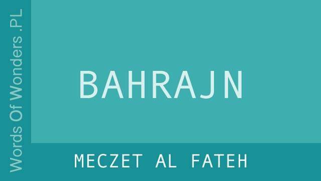wow Meczet Al Fateh