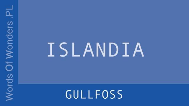 wow Gullfoss