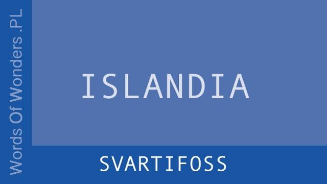 wow Svartifoss