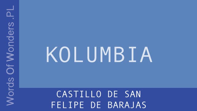 wow Castillo de San Felipe de Barajas