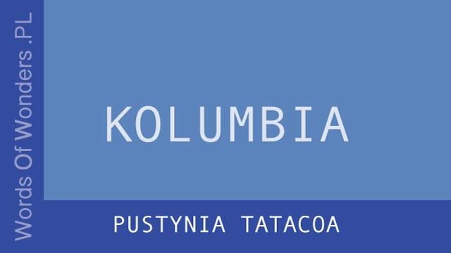 wow Pustynia Tatacoa