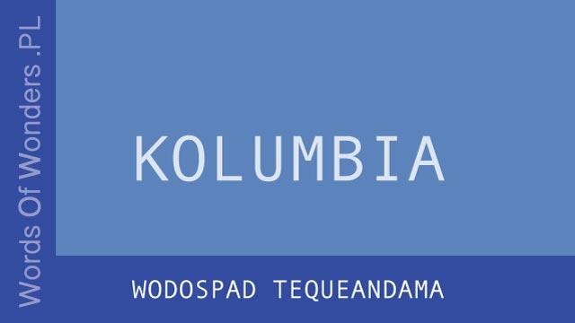 wow Wodospad Tequeandama