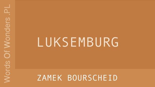 wow Zamek Bourscheid