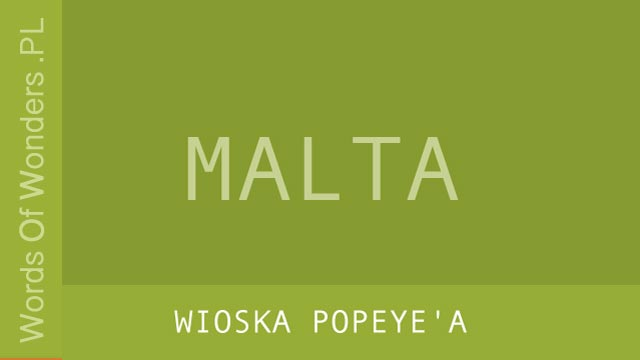 wow Wioska Popeye'a