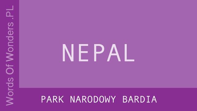wow Park Narodowy Bardia