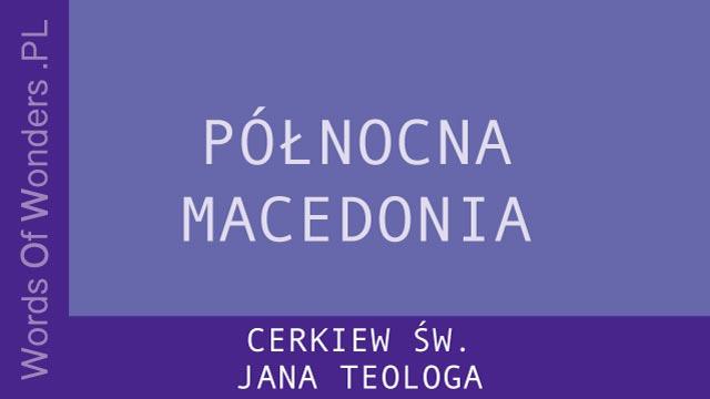 wow Cerkiew ŚW. Jana Teologa