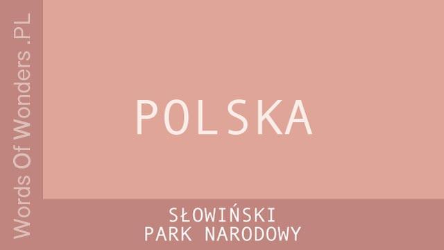 wow Słowiński Park Narodowy