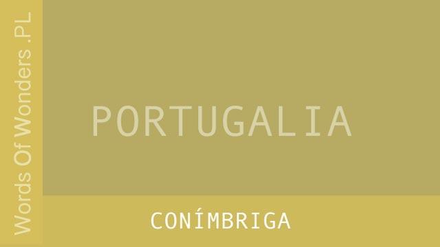 wow Conímbriga