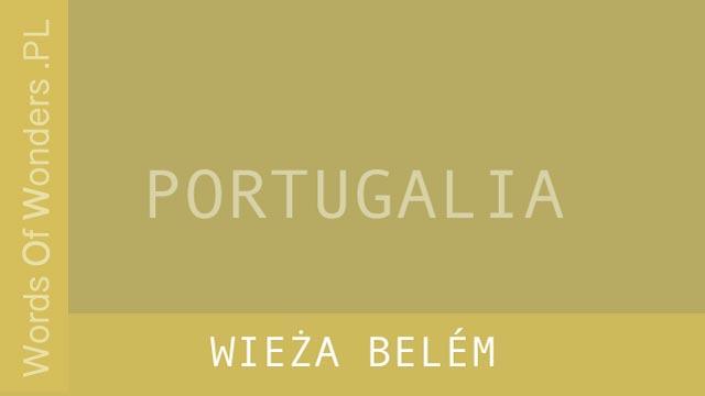 wow Wieża Belém