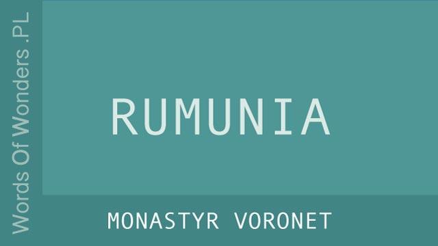 wow Monastyr Voronet