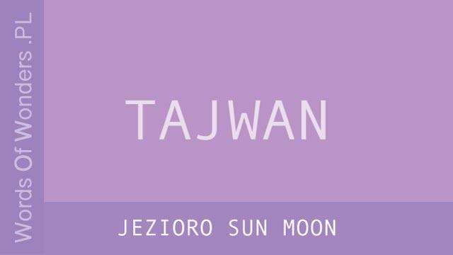 wow Jezioro Sun Moon