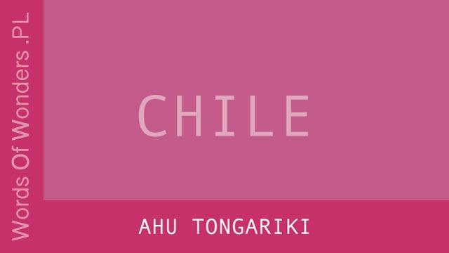 Words of Wonders Ahu Tongariki