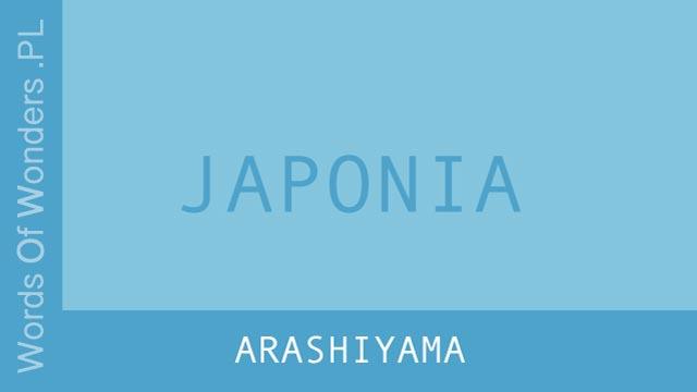 wow Arashiyama