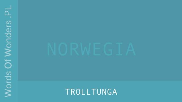 wow Trolltunga