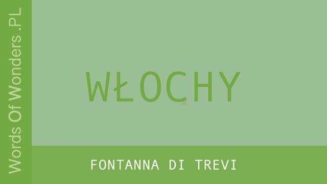 wow Fontanna di Trevi