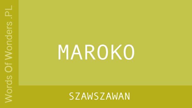 wow Szawszawan
