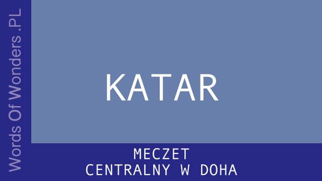 WOW Meczet Centralny W Doha