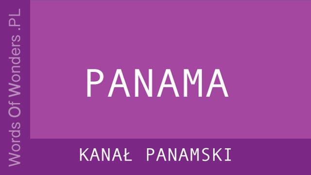 WOW KanaŁ Panamski