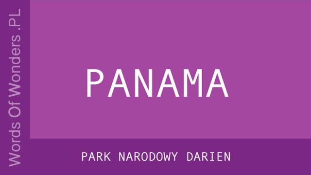 WOW Park Narodowy Darien