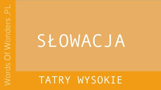 WOW Tatry Wysokie