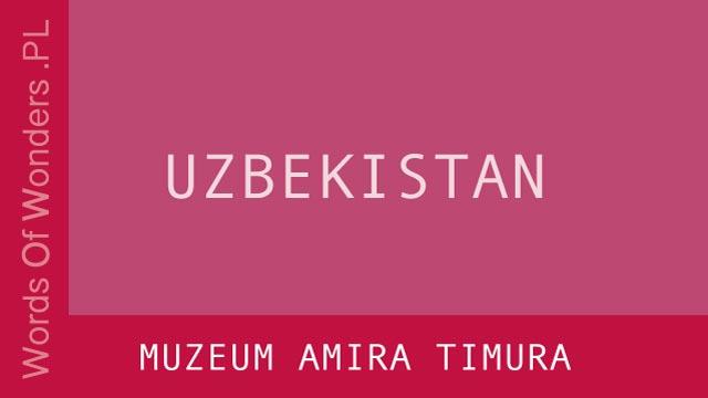 WOW Muzeum Amira Timura
