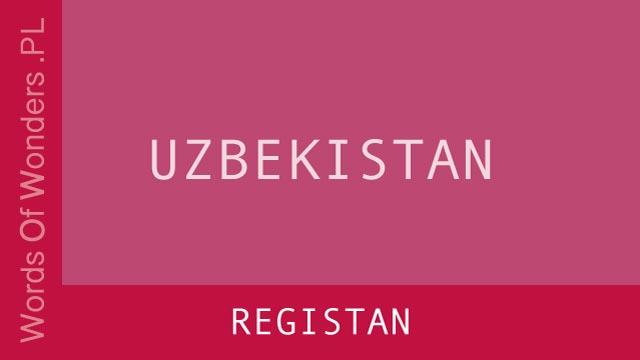 WOW Registan