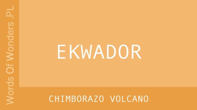 WOW Chimborazo Volcano