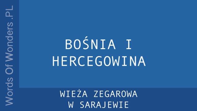 WOW Wieża Zegarowa W Sarajewie