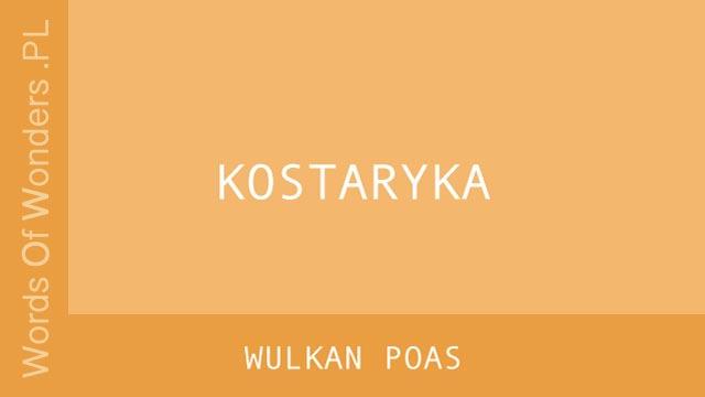 WOW Wulkan Poas